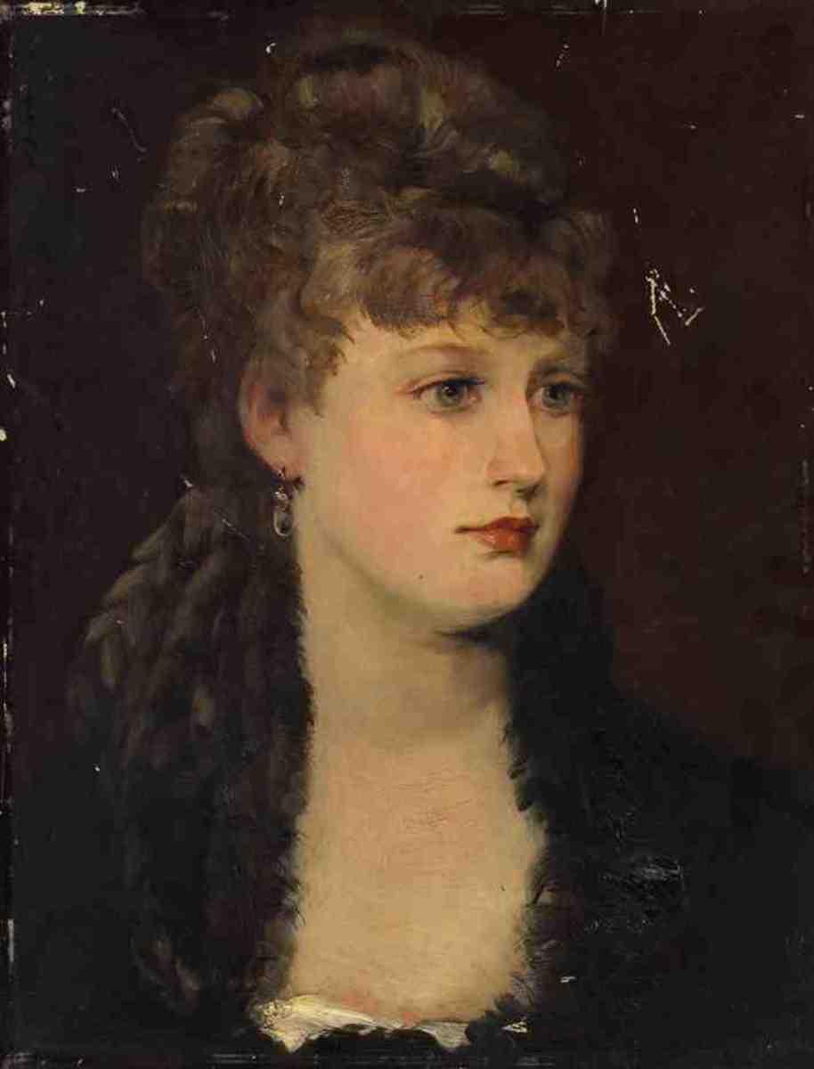 Bildnis einer Dame