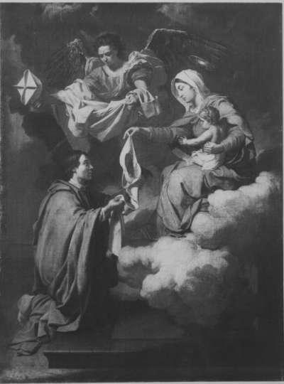 Maria übergibt dem hl. Norbert das Skapulier