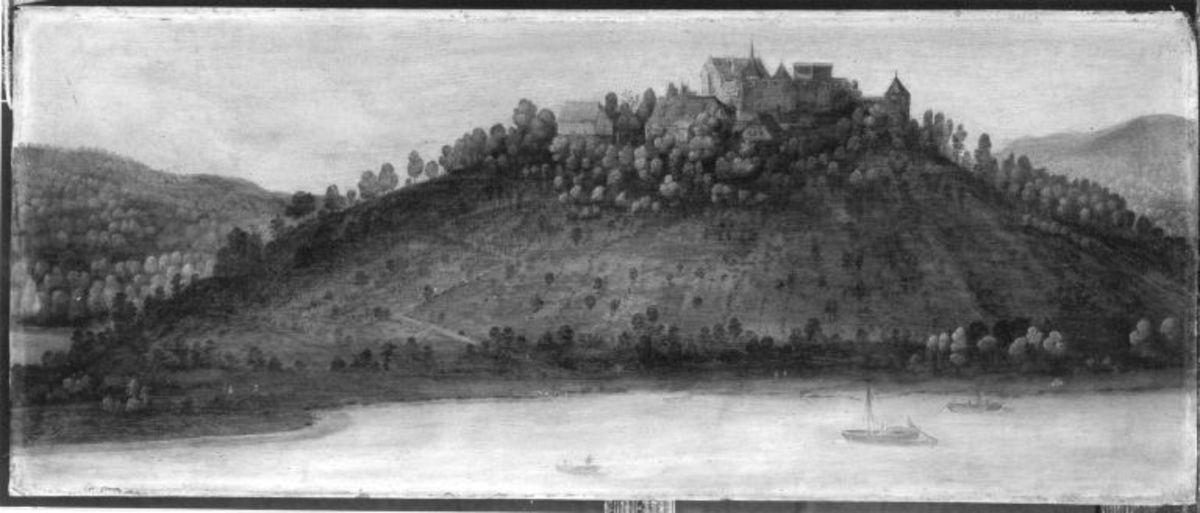 Ansicht von Schloss Minneburg bei Neckargerach
