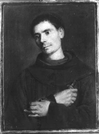 Bildnis eines Franziskanermönchs