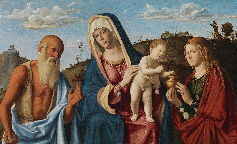 Maria mit Kind und den hll. Maria Magdalena und Hieronymus