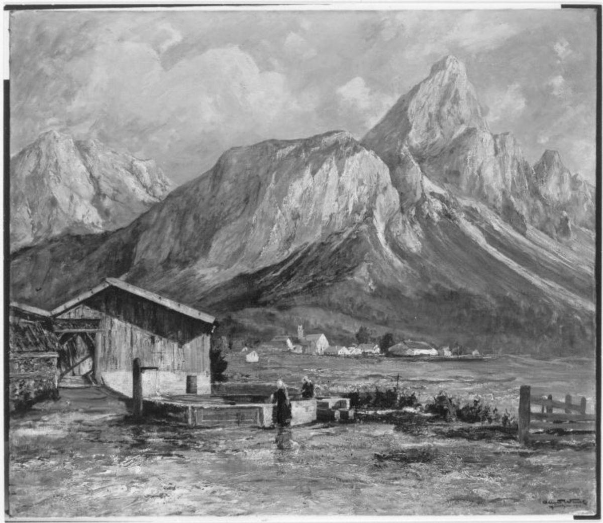 Die Soienspitze bei Ehrwald