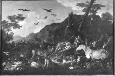 Orpheus und die Tiere