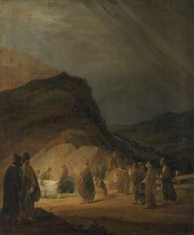 Grabtragung Christi