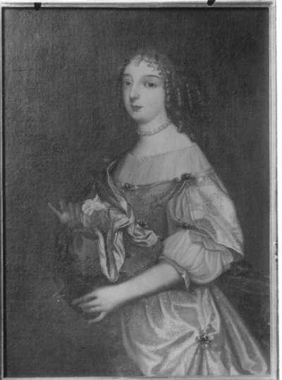 Bildnis der Luise Maria, Tochter des Kurfürsten Friedrich V. von der Pfalz