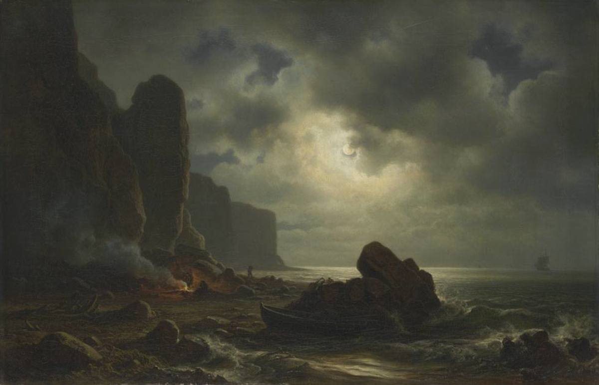 Küste von Helgoland