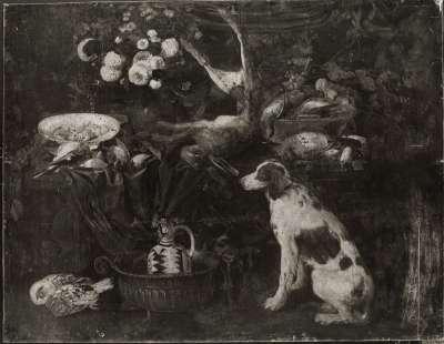 Stillleben mit Hund