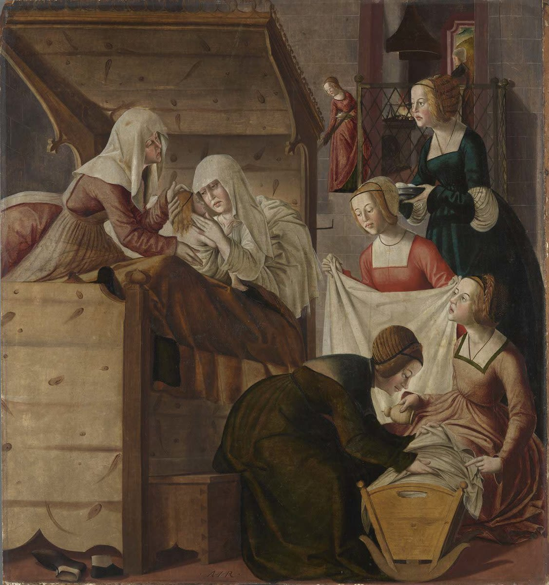 Marienaltar: Geburt Mariae
