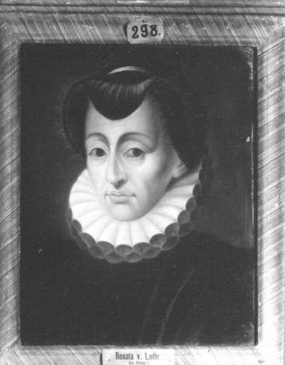 Renate von Lothringen, Gemahlin Herzog Wilhelms V. von Bayern