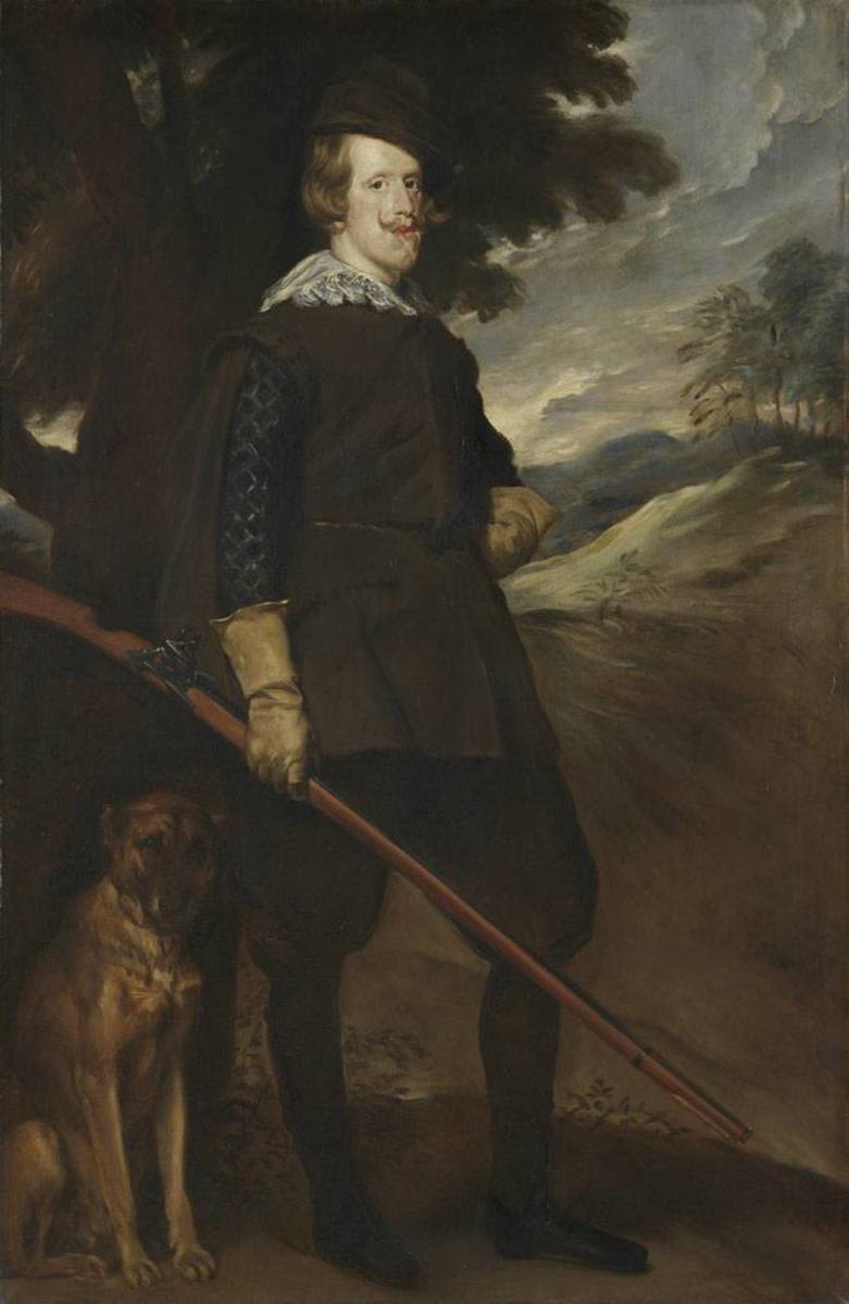 König Philipp IV. von Spanien im Jagdkostüm (nach Velázquez)
