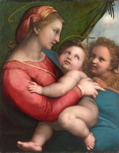 Madonna della Tenda (mit dem Vorhang)