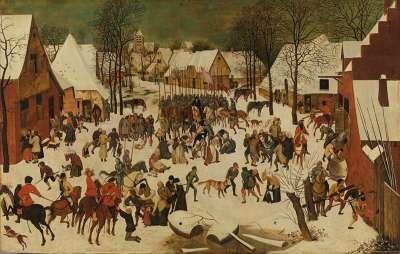 Der Bethlehemitische Kindermord (nach Pieter Bruegel d. Ä.)