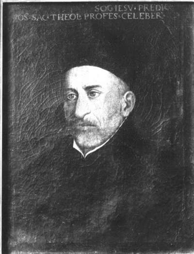 Bildnis des Jesuiten Telletus Franz Societas Jesu