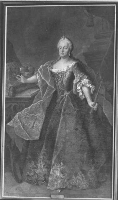 Bildnis der Maria Amalia, Gemahlin des Kurfürsten Karl Albrecht