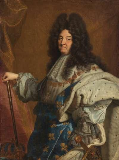 Bildnis des Louis XIV., König von Frankreich