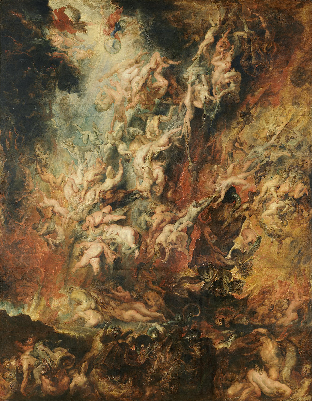 Der Höllensturz der Verdammten