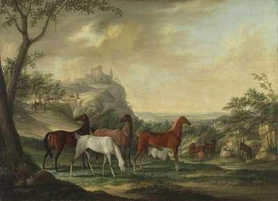 Gestütspferde