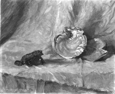 Frosch und Muschel