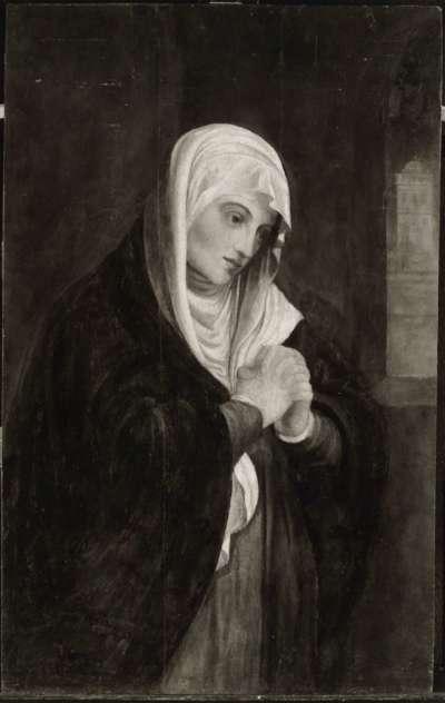 Betende junge Frau (Maria?)