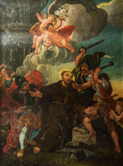 Martyrium eines Heiligen (Hl. Fidelis von Sigmaringen)