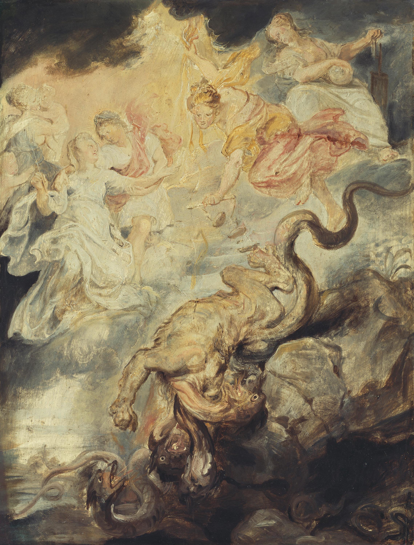 Die Versöhnung (Skizze zum Medici-Zyklus)