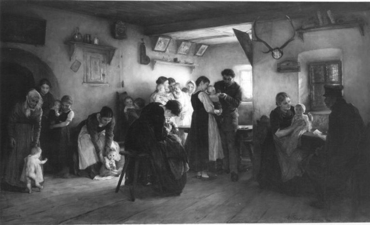 Impfung in Tirol