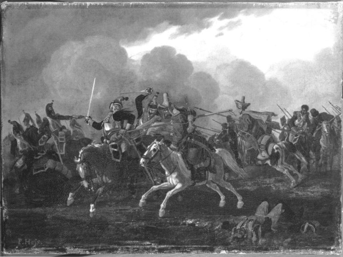 Kosakengefecht (nach Peter Hess)