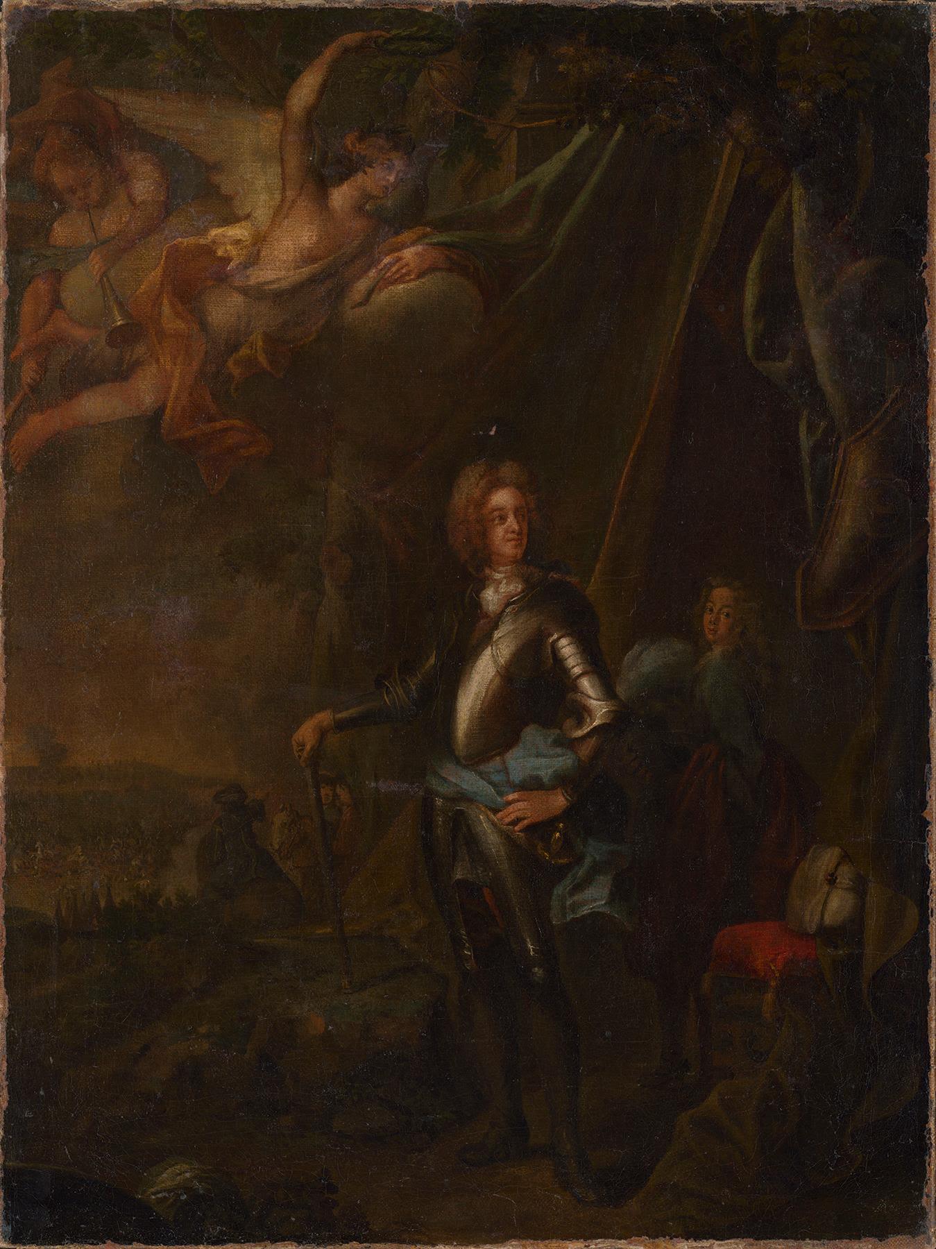 Max Emanuel in der Schlacht bei Harsan