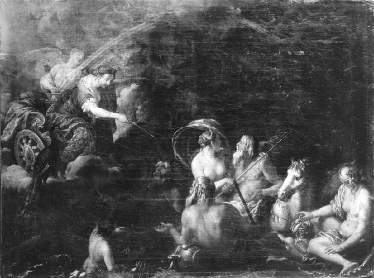 Neptun und Amphitrite auf dem Hippokampenwagen