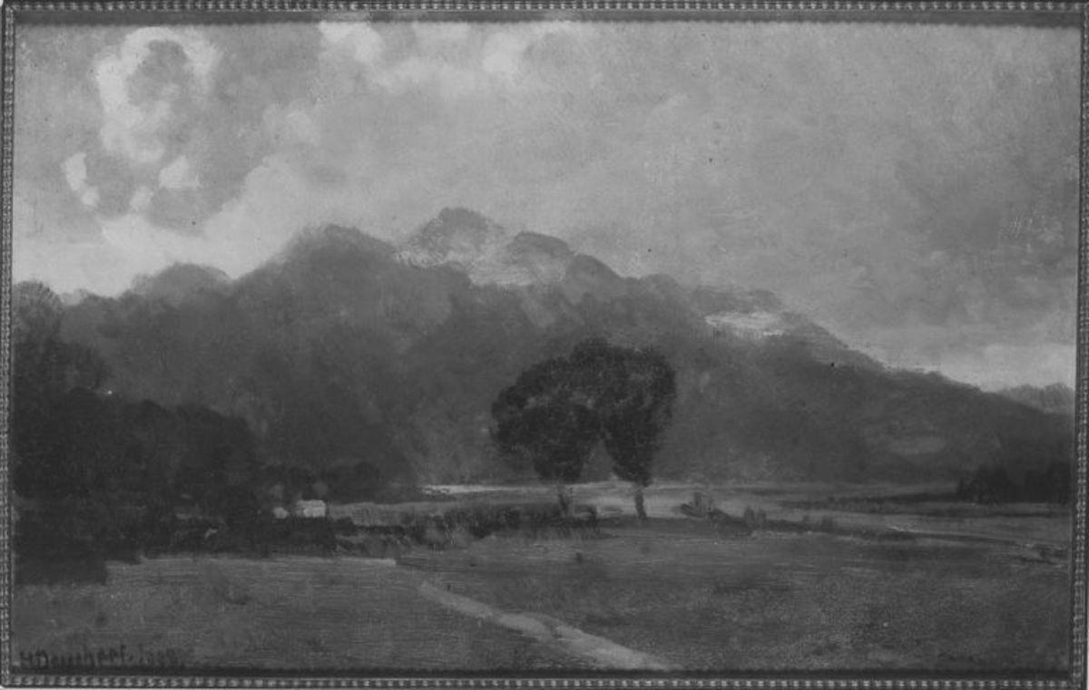 Berge am Kochelsee