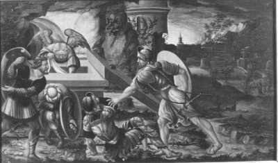 Auferstehung Christi Rückseite: Maria der Verkündigung