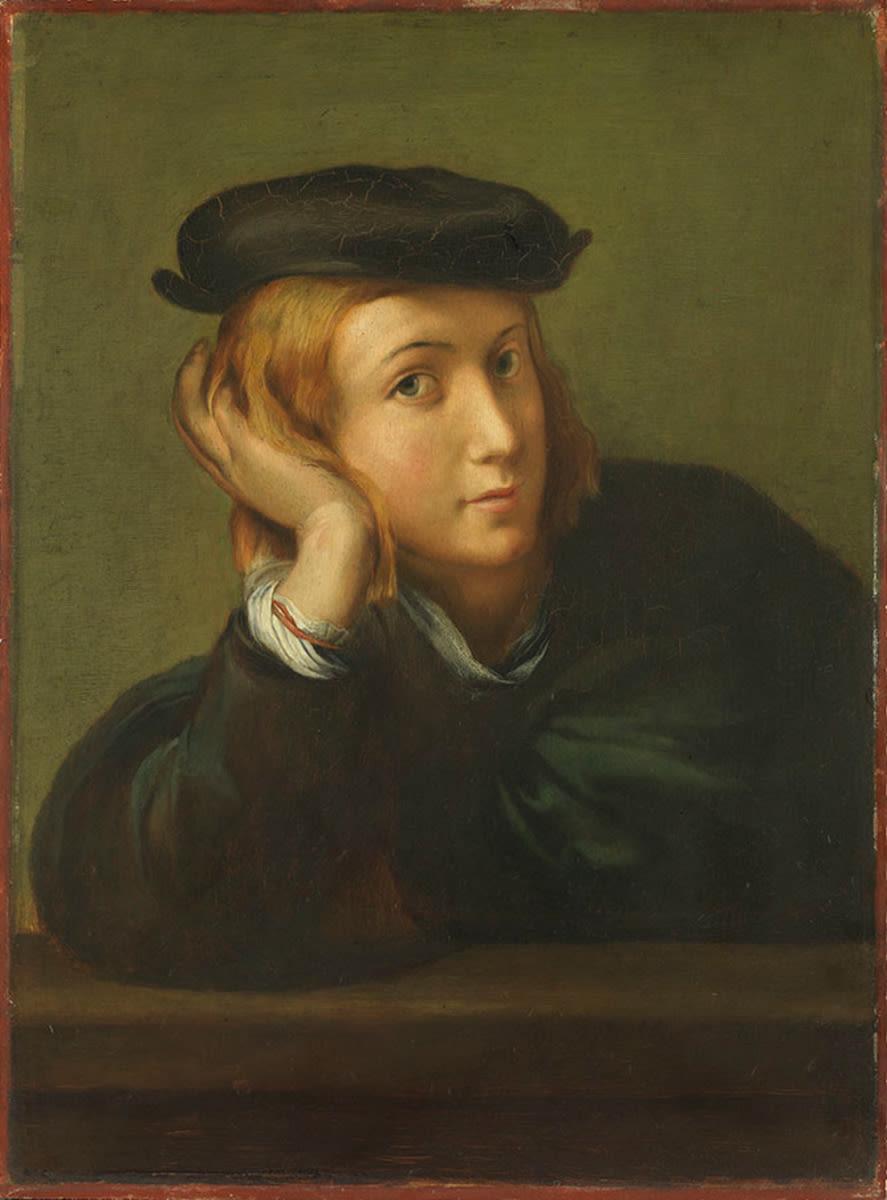 Bildnis eines jungen Mannes (nach Raffael)