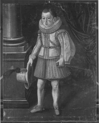 Knabenbildnis des Philipp Wilhelm von Neuburg, Kurfürst von der Pfalz