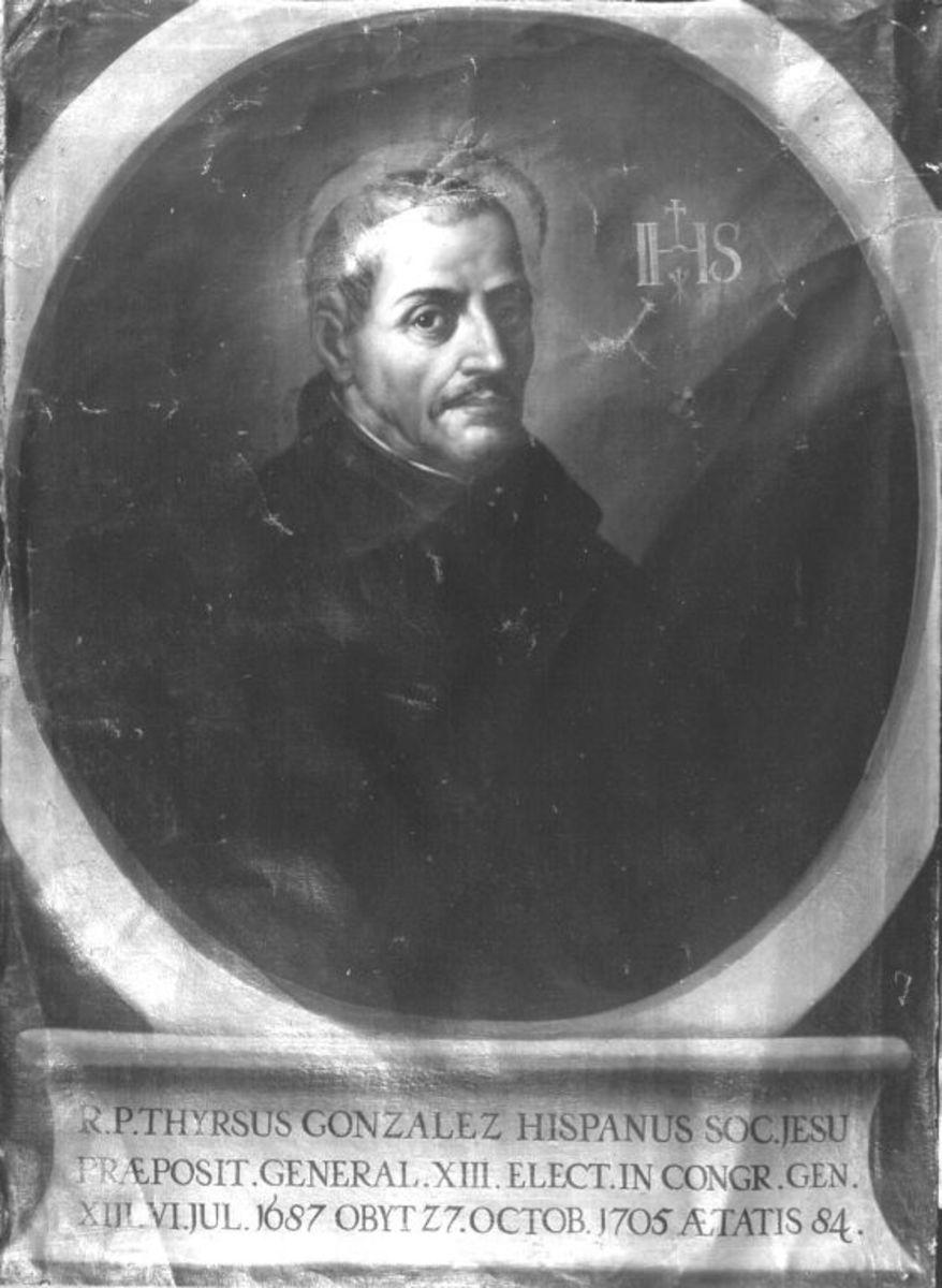 Spanischer Jesuit Thyrsus Gonzalez