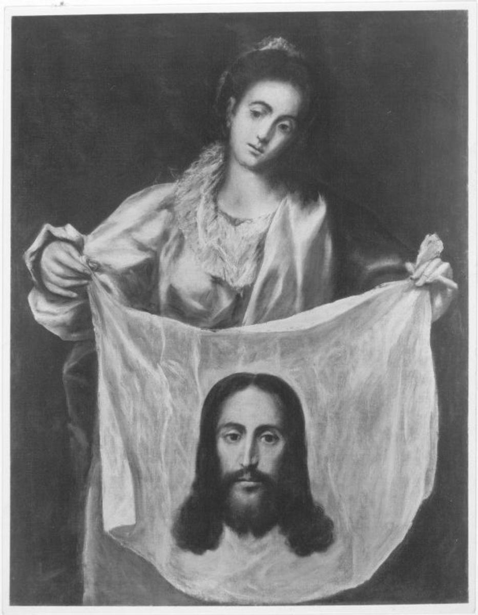 Die hl. Veronika mit dem Schweißtuch