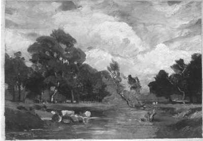 Flussschwemme