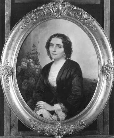 Die Schauspielerin Luise Elisabeth Ebert, verh. Genter