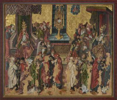 Disput über das Altarsakrament