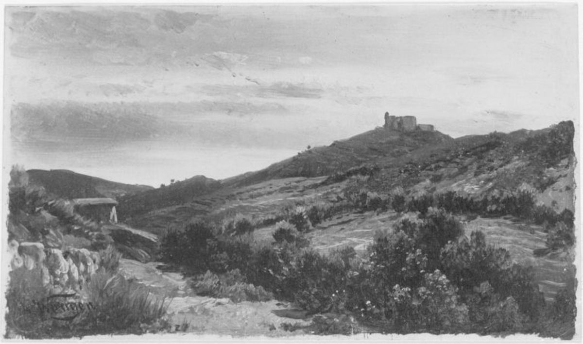 Torre Rocce bei Orbetello im Frühjahr