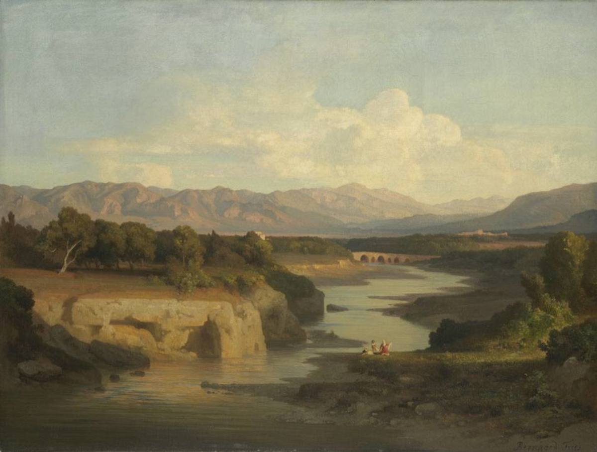 Das Tal des Oreto bei Palermo