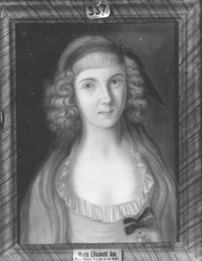Maria Elisabeth Amalia, Tochter des Wilhelm, Herzog in Bayern, Pfalzgraf und Herzog von Gelnhausen