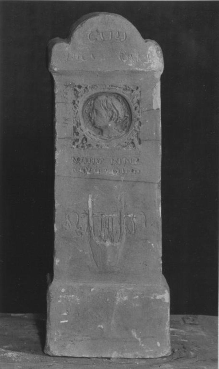 Modell für das Grabmal des Dichters Wilhelm von Hertz in München