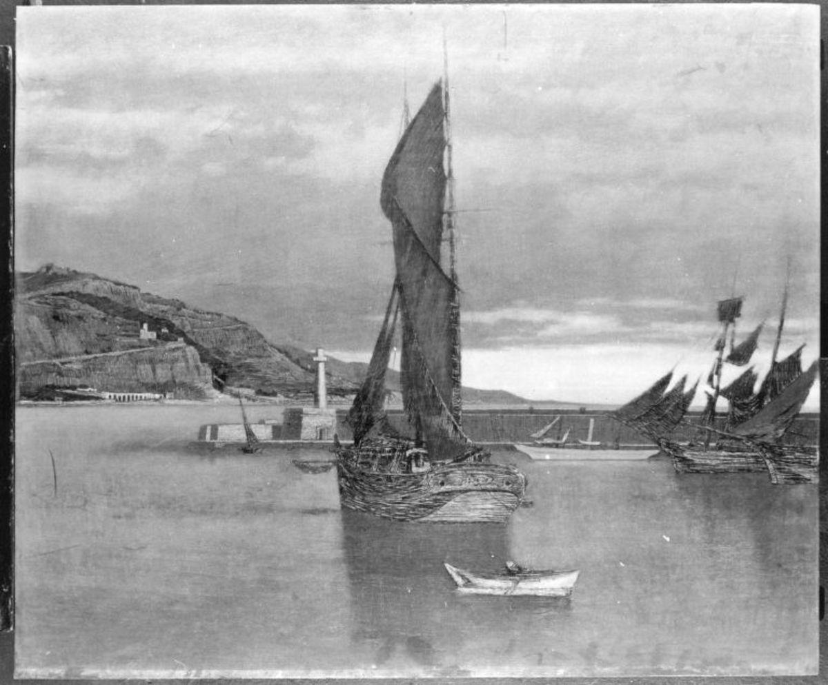 Marine (Hafen von Mentone)