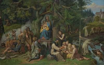 Einführung des Christentums in die deutschen Urwälder