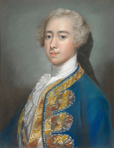 Porträt des jungen Lord St. George