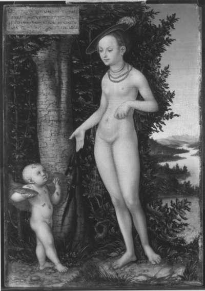Venus mit Amor als Honigdieb