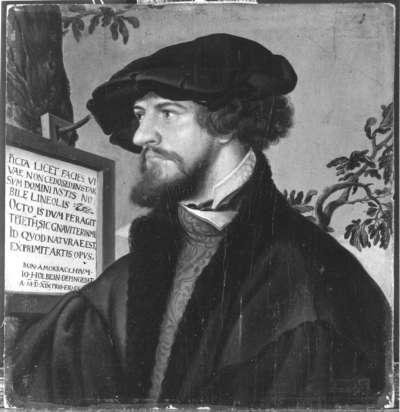 Bildnis des Bonifazius Amerbach