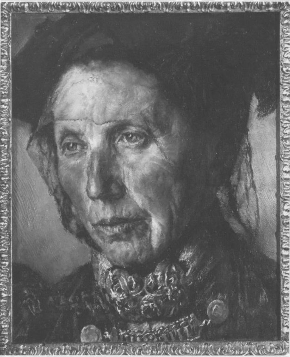 Schwäbische Bauernfrau