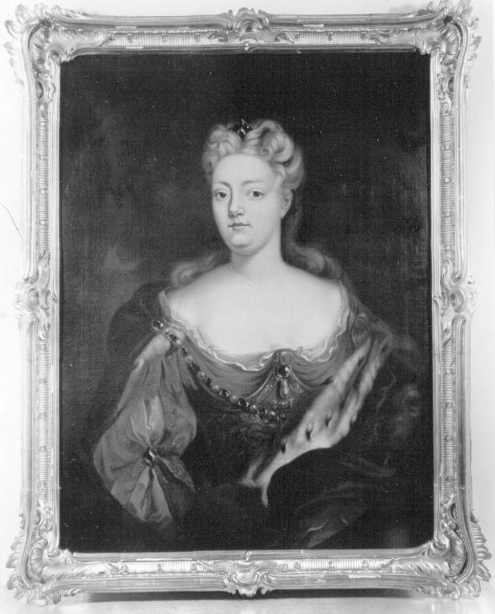 Bildnis der Pfalzgräfin Maria Henriette Leopoldine von Sulzbach, geb. Marquise de la Tour d'Auvergne (1708-1728)
