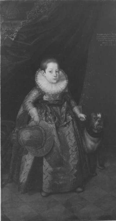 Bildnis des Ferdinand Wilhelm, Sohn Albrechts VI., im Alter von vier Jahren